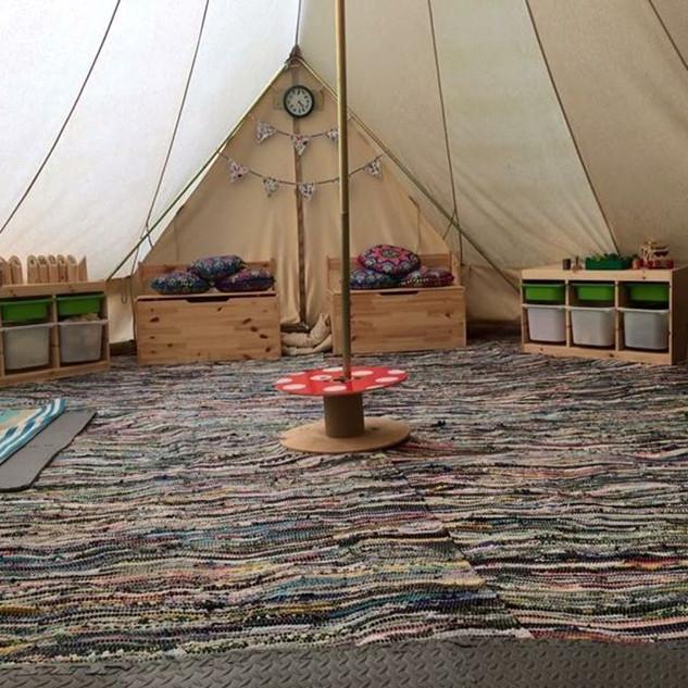 Our Bell tent ! __hiddenvalleybushcraft