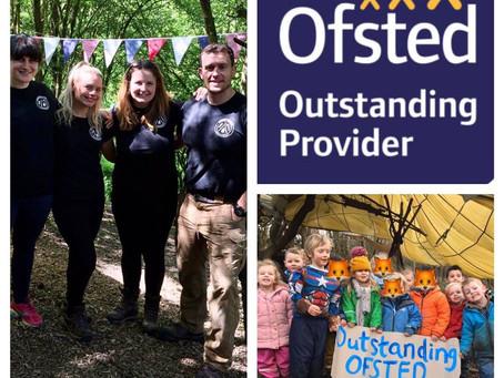 We have been graded outstanding!