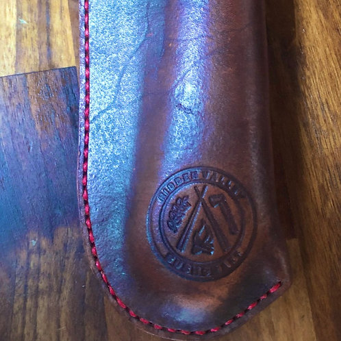 Handmade leather laplander holster