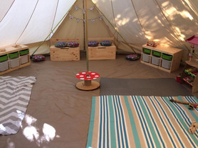 Our Cosy Bell Tent