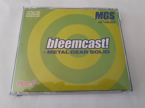 Bleemcast for Metal Gear Solid