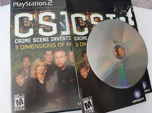 CSI 3 Dimensions of Murder