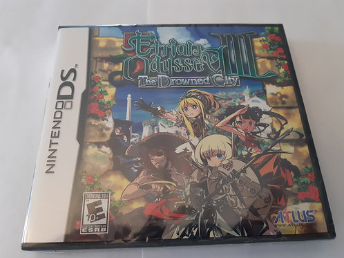 Etrian Odyssey III: The Drowned City (Neuf)