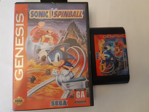Sonic Spinball (CB)