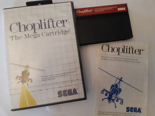 Choplifter! (CIB)