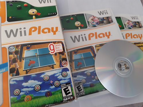Wii Play (With box)