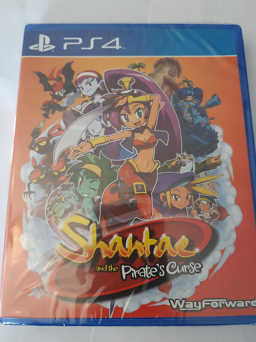 Shantae and the Pirate's Curse Limited Run (Neuf)