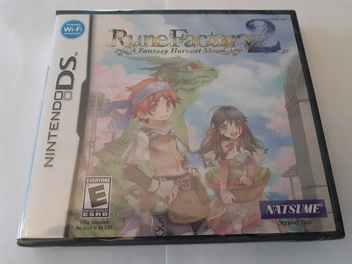 Rune Factory 2 A Fantasy Harvest Moon (Neuf)