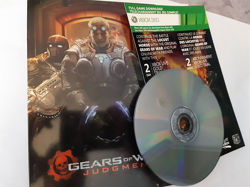 Gears of War Judgment Steel Box