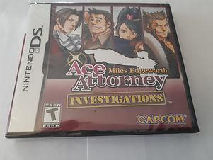 Ace Attorney Investigations: Miles Edgeworth (Neuf)