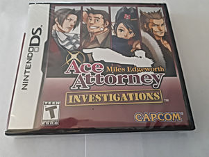 Ace Attorney Investigations: Miles Edgeworth (Neuf)