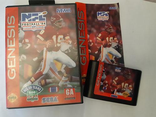 NFL Football '94 Starring Joe Montana  (CIB)