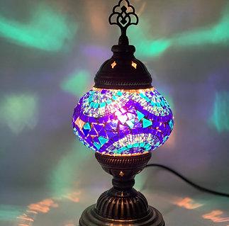 Blue Colour Table Lamp
