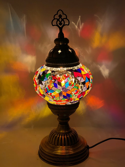 Multicoloured Turkish Moroccan Table Lamp DES02