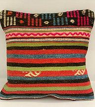 Turkish Kilim Cushion Cover DES01
