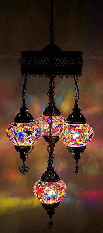 Turkish Chandelier in Multicolour