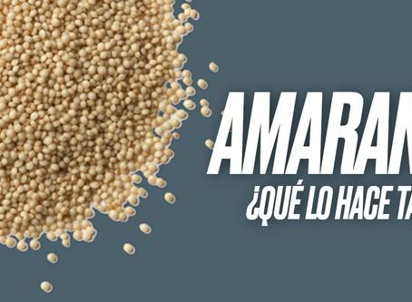 Amaranto + Ejercicio = combinación perfecta