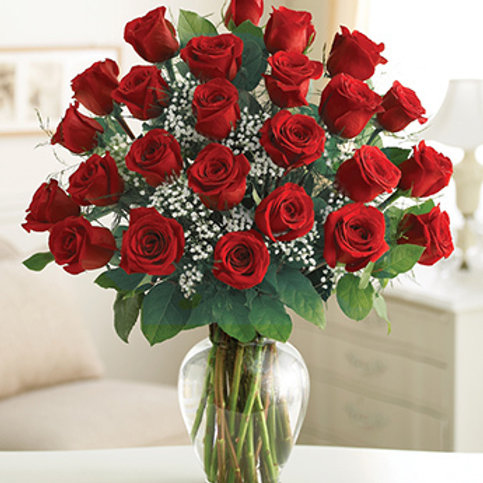 2 Dozen of Red Roses
