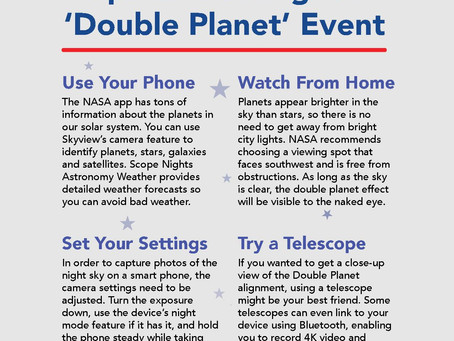Smartphone Can Help You Learn Under Stars During Tonight's Rare 'Double Planet' Event