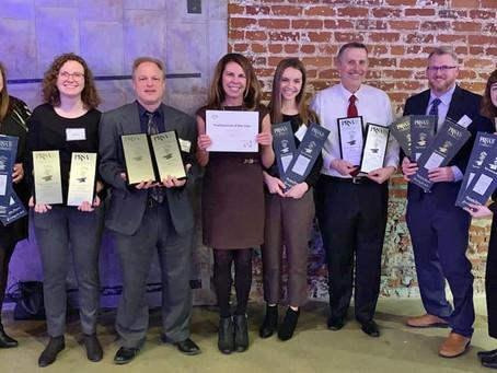 Lukas Partners Shines Bright at PRSA Nebraska Paper Anvil Awards