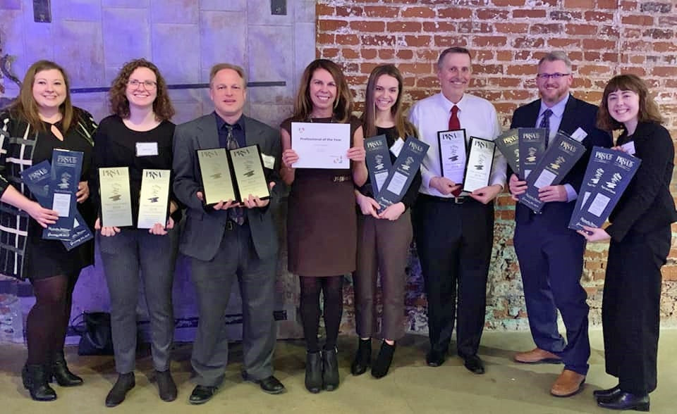 Lukas Partners Holding Paper Anvil Awards