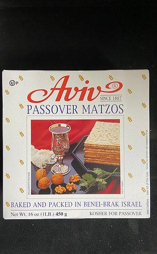 Aviv Passover Matzes