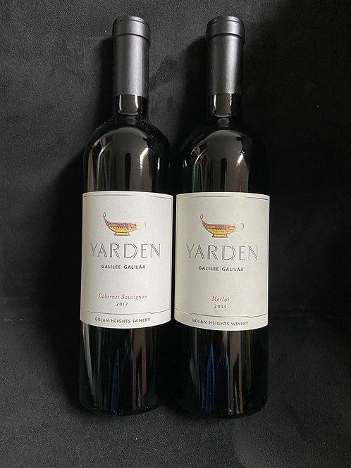 Yarden Wein Paket Rot