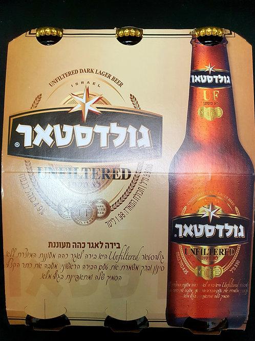 Goldstar Unfiltered Bier 6er Pack