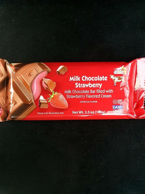 Elite Milk Chocolate with Strawberry Cream