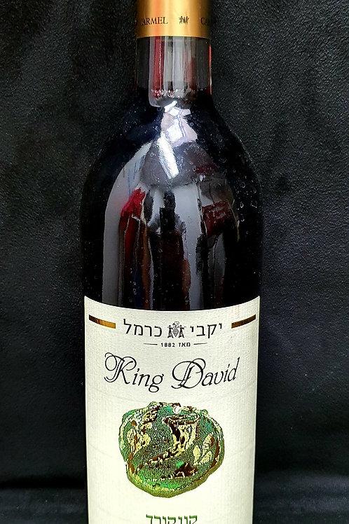 King David Koscher Wein