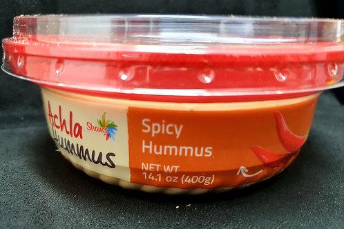 Hummus mit würziger Sauce 400g