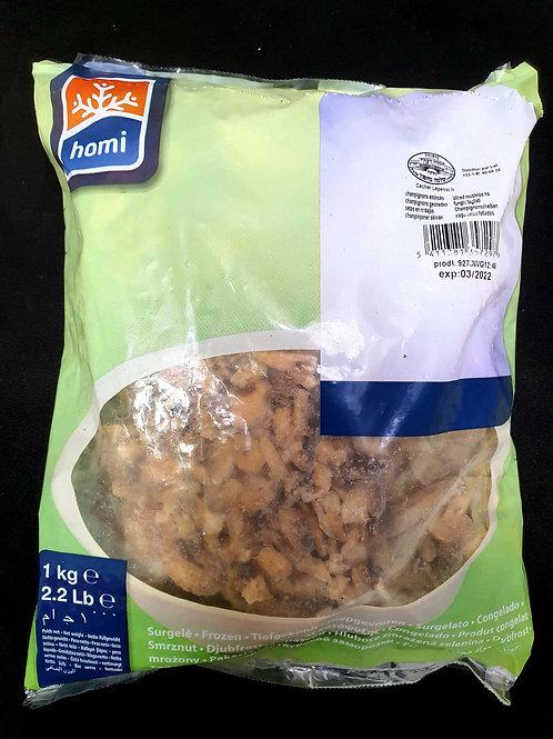 Pilze geschnittene gefroren 1kg
