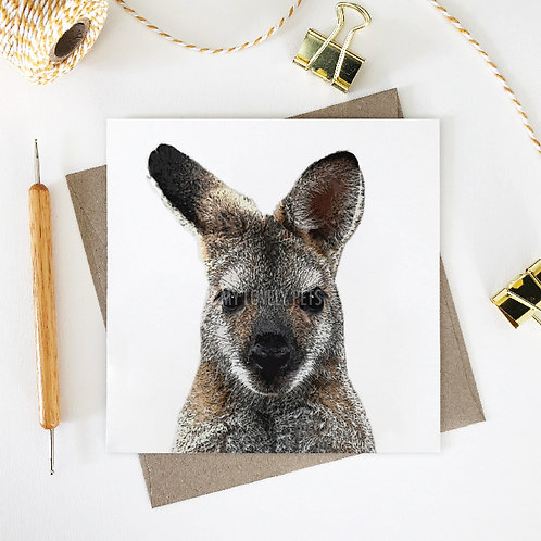 Peter / Wallaby Greeting Card