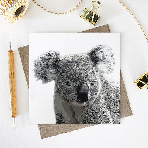 Benjamin / Koala Greeting Card