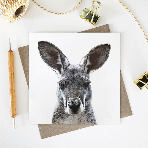 Sam / Kangaroo Greeting Card