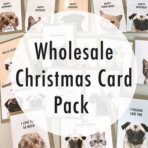 Wholesale Christmas Card Pack