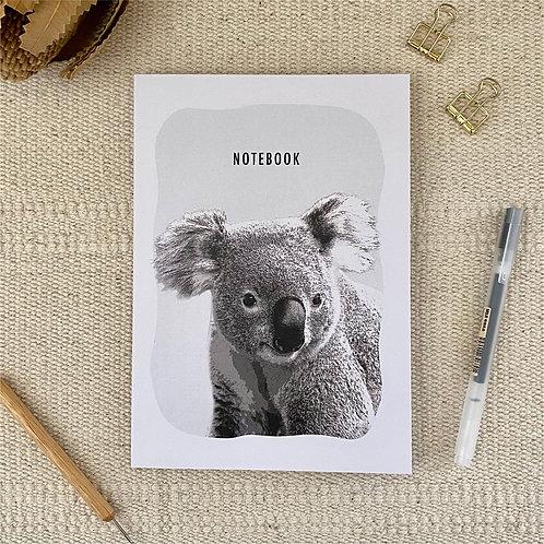 Koala A5 Blank 100% Recycled Paper Notebook