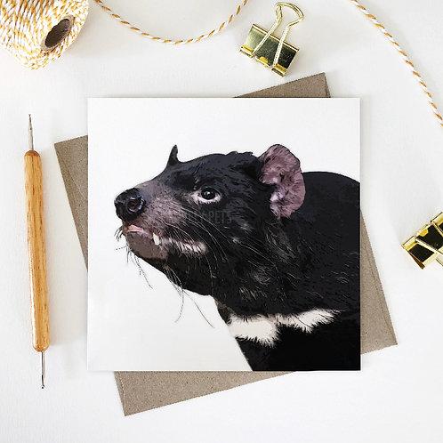 Tasmanian Devil / Paul Greeting Card