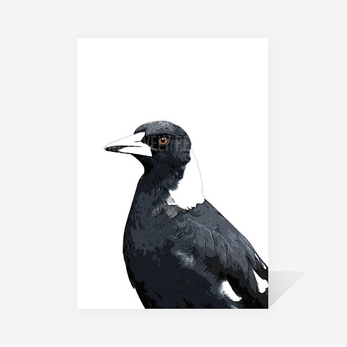 Magpie / Wendy Print