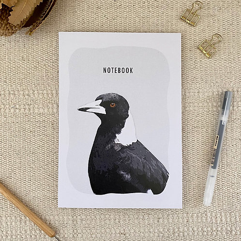 Magpie A5 Blank 100% Recycled Paper Notebook