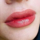 labios besados