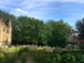 Midsomer graveyard.