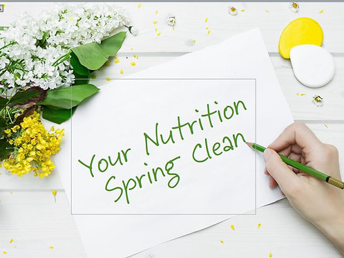Your Nutrition Spring Clean