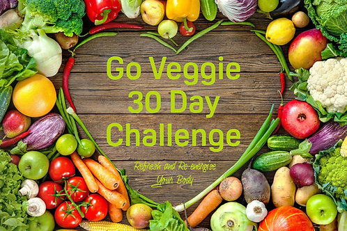 Go Veggie 30 Day Challenge