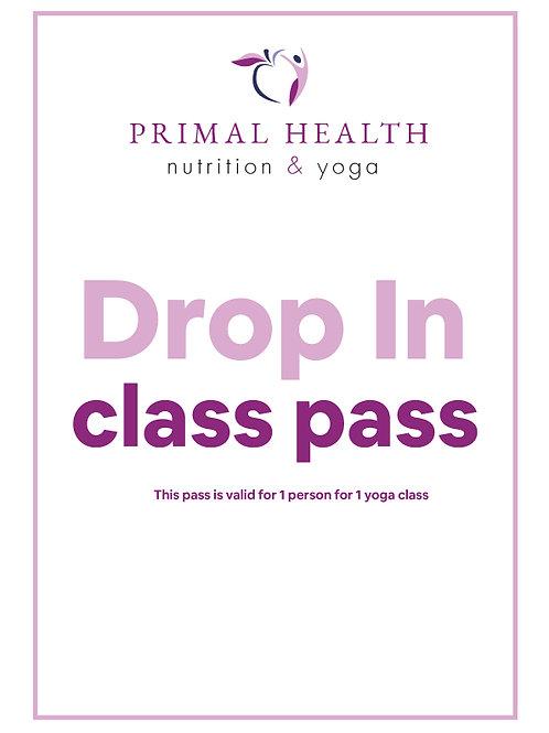 Drop In Class Pass