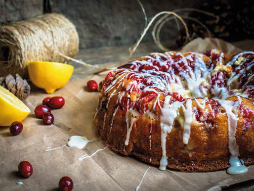 Low sugar Christmas cake