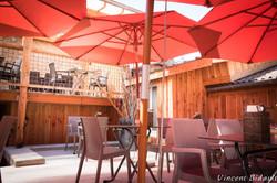 terrasse d'un restaurant en bourgogne franche comté
