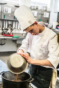 apprentie cuisinier