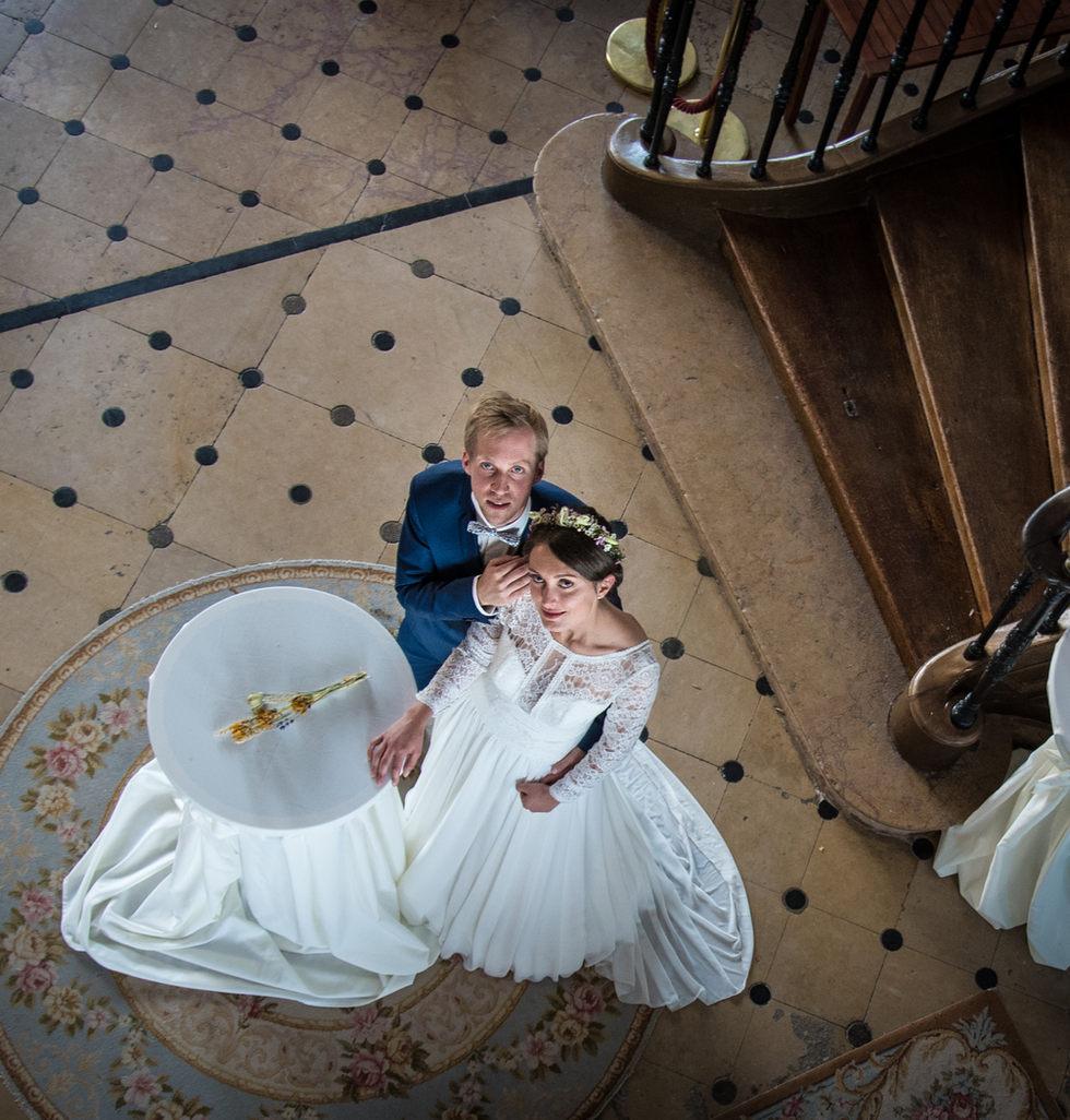 mariés vus d'en haut à clervans