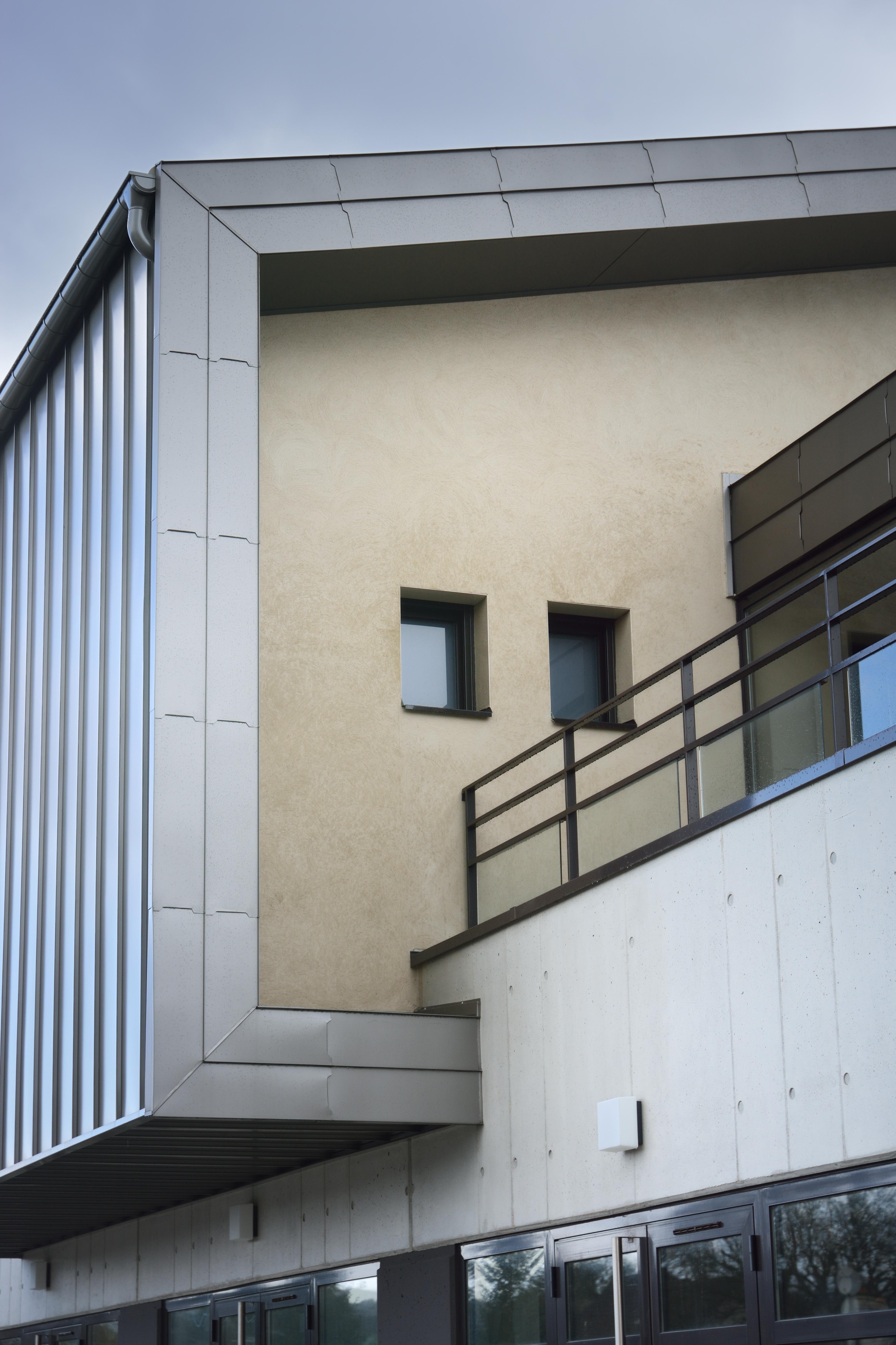 détail pavillon contemporain